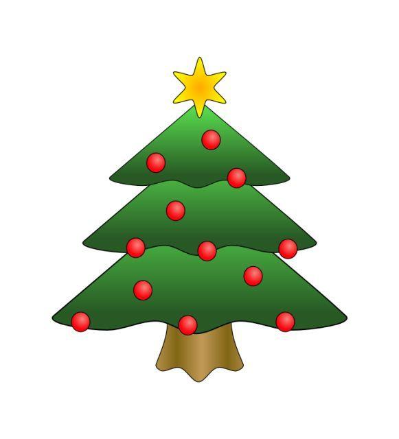 Free Christmas Tree Clip Art.