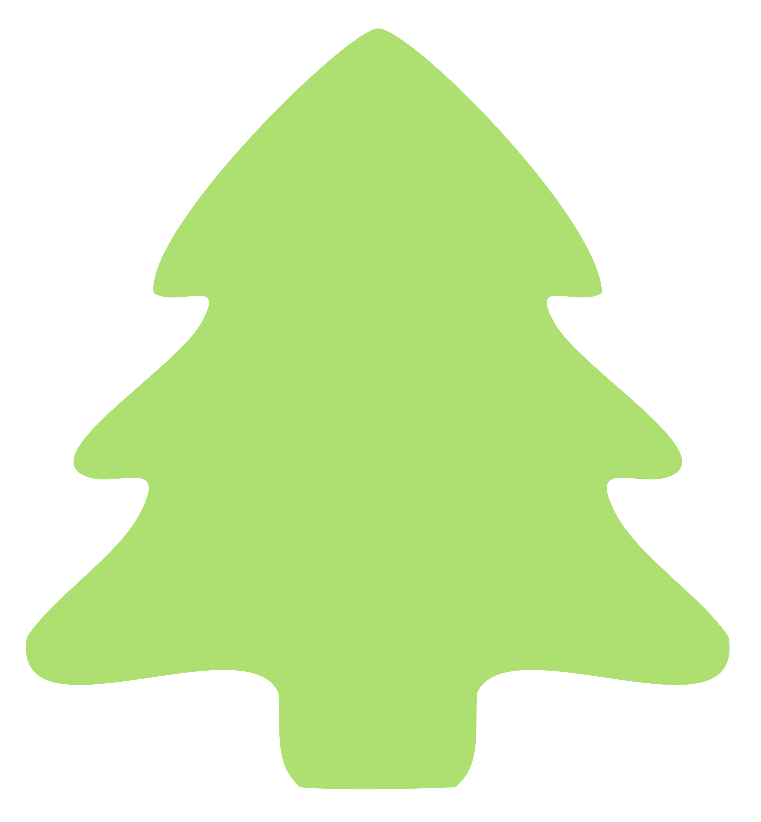 Plain Christmas Tree Clipart.
