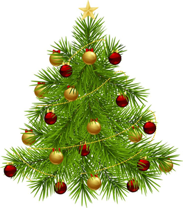 Animated Christmas Trees Clipart.