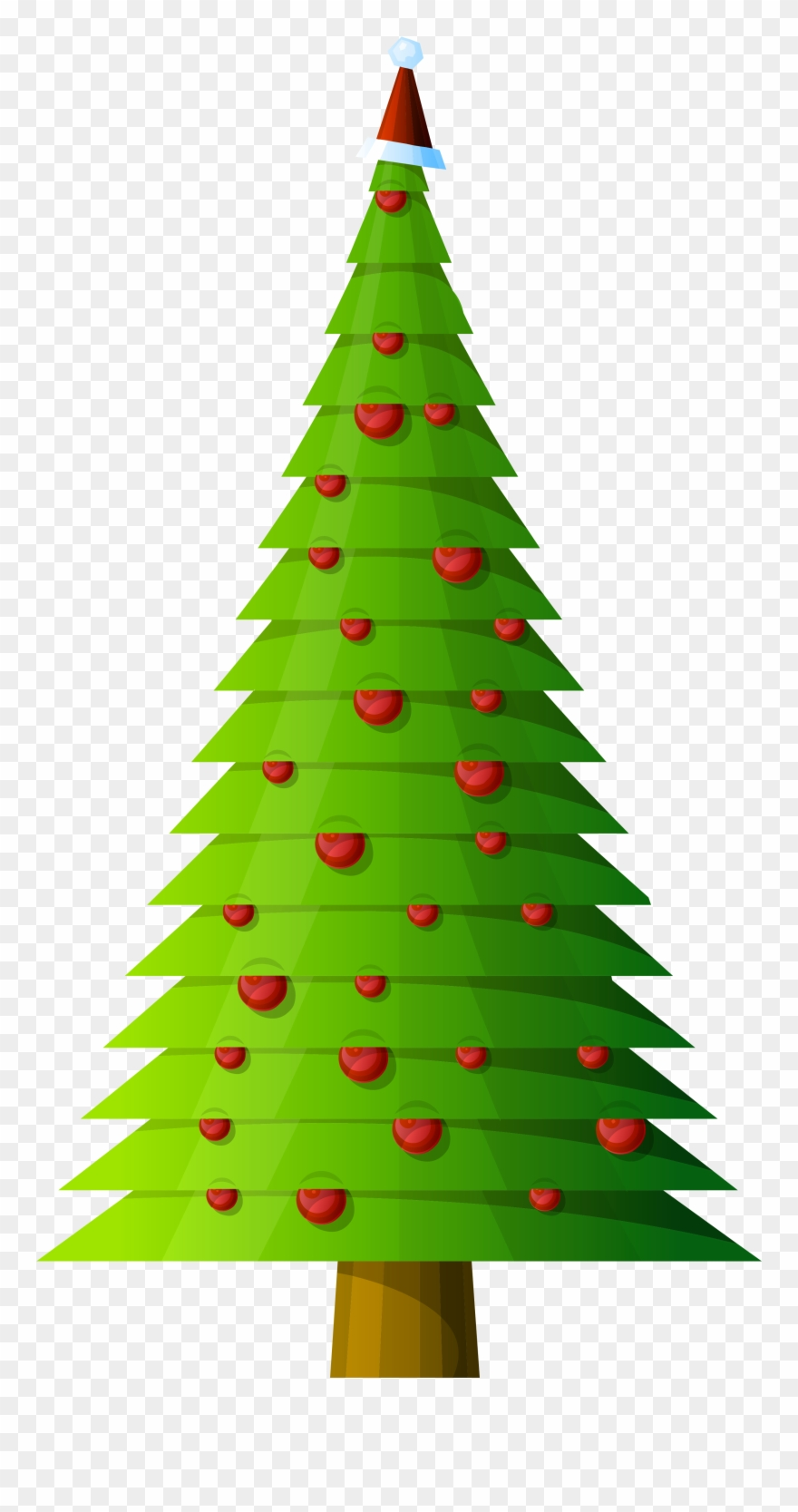Graphic Royalty Free Christmas Tree Style Transparent.