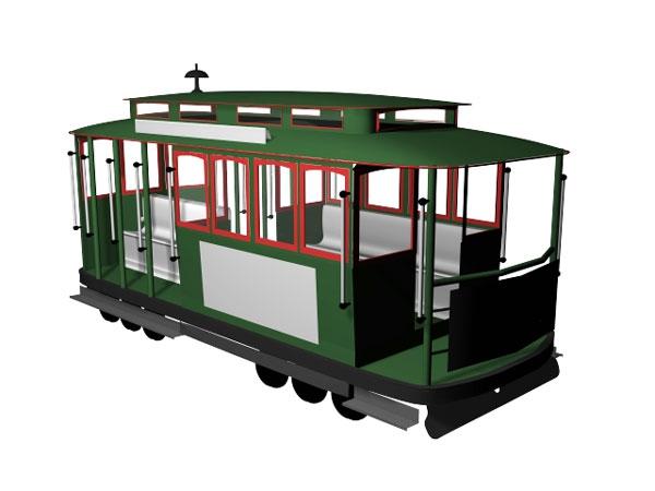 Trolley Car Clipart#1886991.