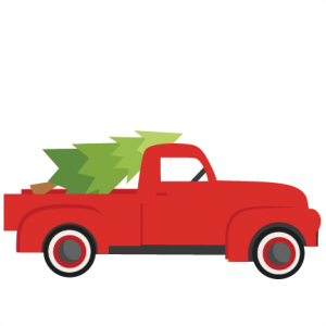 Freebie of the Day! Christmas Tree With Truck Model/SKU.