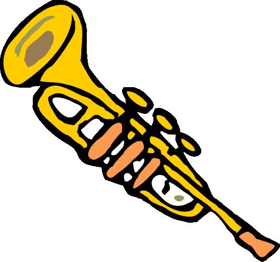 Christmas trumpet clipart clipartfest.
