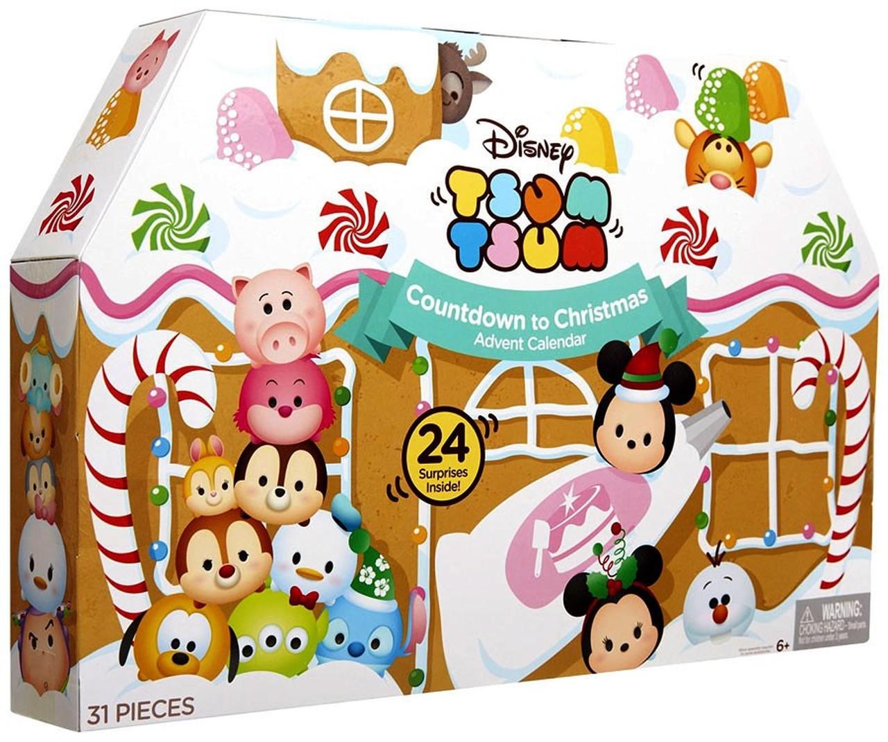 Disney Tsum Tsum 2016 Advent Calendar Set [Countdown to Christmas].