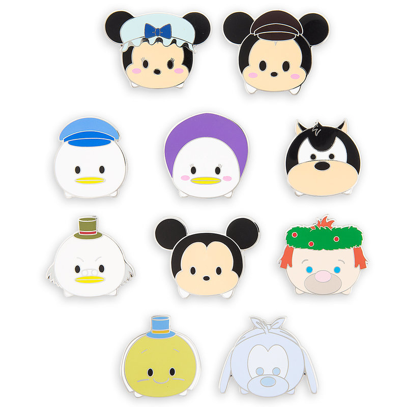 Disney Disney US formula product ツムツムピンコレクターグッズ toy batch collector broach  mystery pin pack [parallel import goods] Christmas birthday presentation.