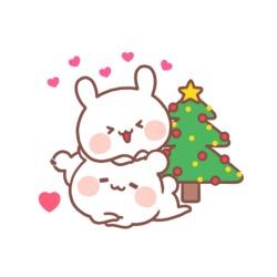 christmas anime icons.