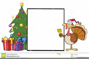 Christmas Turkey Free Clipart.