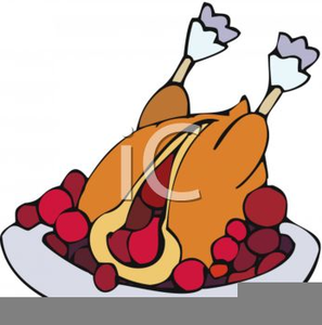 Free Christmas Turkey Clipart.