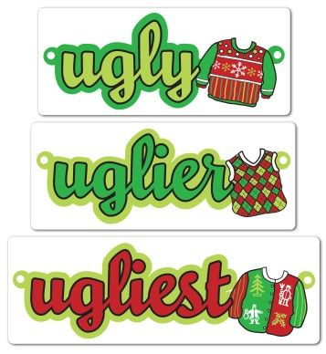 17 Best images about Ugly sweater Christmas party on Pinterest.