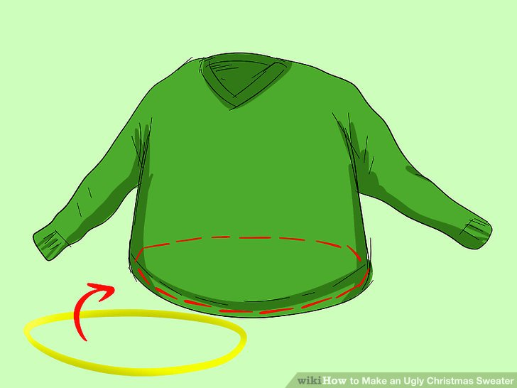 3 Ways to Make an Ugly Christmas Sweater.