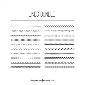 Line Vectors, Photos and PSD files.
