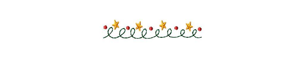 Christmas Clip Art Lines.