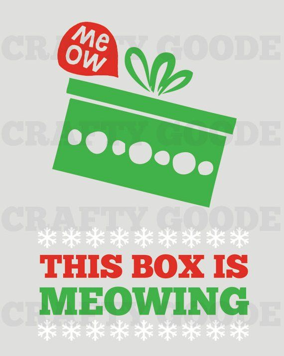 This Box is Meowing.