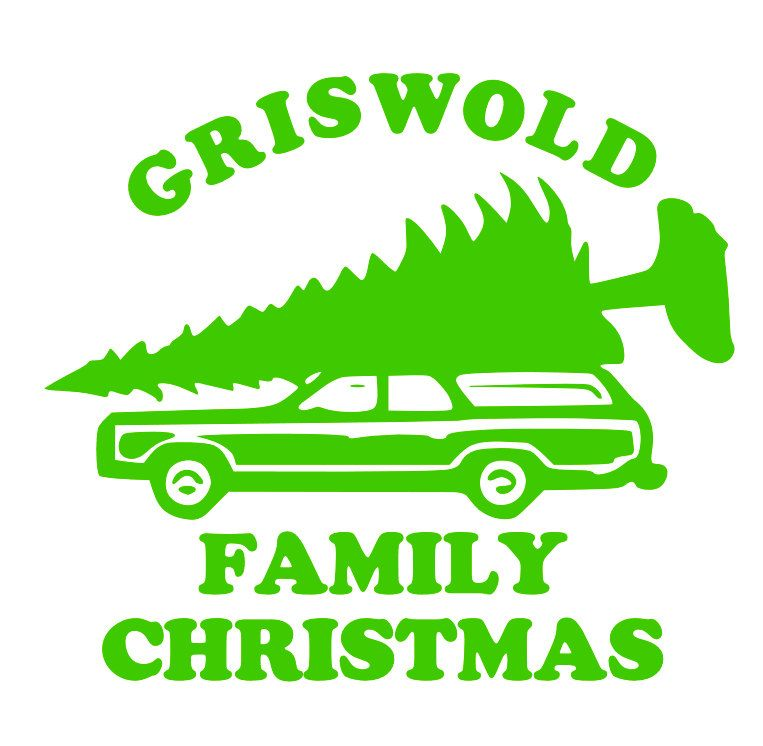 A Christmas Vacation it's a GRISWOLD Family Christmas Iron On.