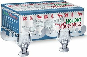 Details about Chevy Chase National Lampoons Christmas Vacation Acrylic  Moose Mugs Set of 2 NEW.