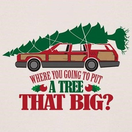 Griswold family Christmas tree.