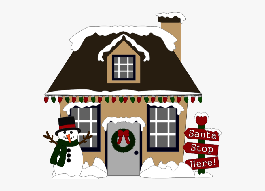 Christmas House By Scrappydew.