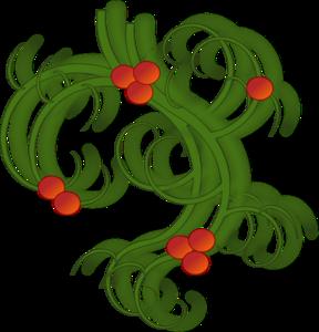 Christmas Swirls Clip Art at Clker.com.