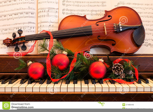 Free Clipart Christmas Sheet Music.