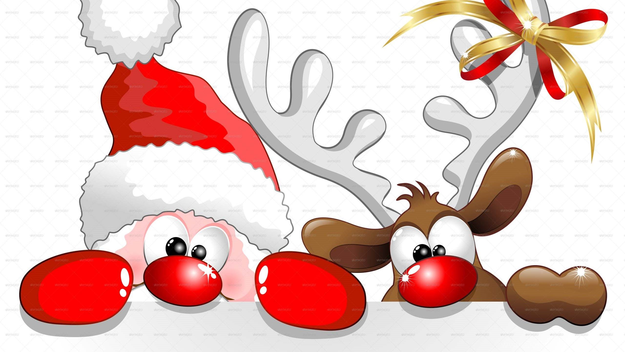 Christmas Cartoon Wallpapers.