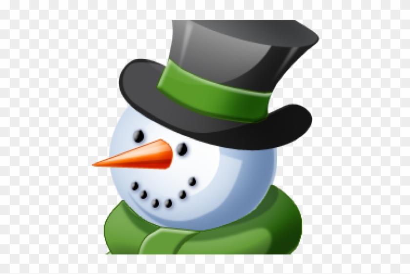 Snowman Clipart Head.