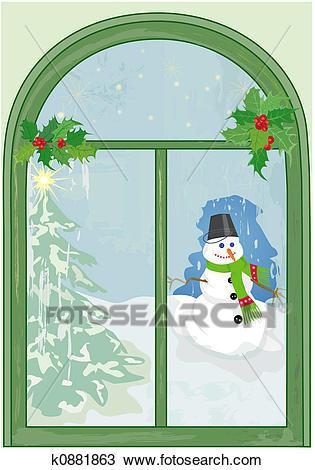 Christmas window clipart 4 » Clipart Portal.