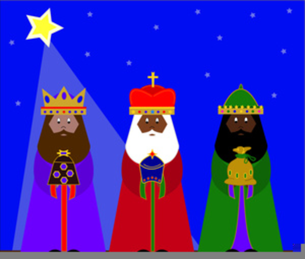 Free Clipart Wise Men Christmas.