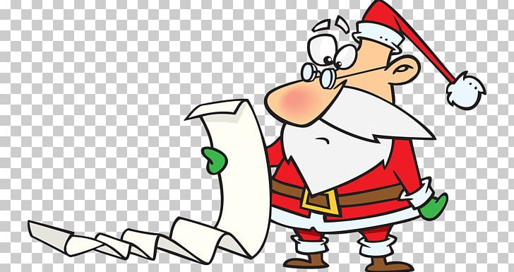 Santa Claus Christmas Wish List PNG, Clipart, Area, Art.
