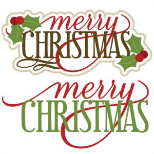 Merry christmas words clipart merry christmas clipart.