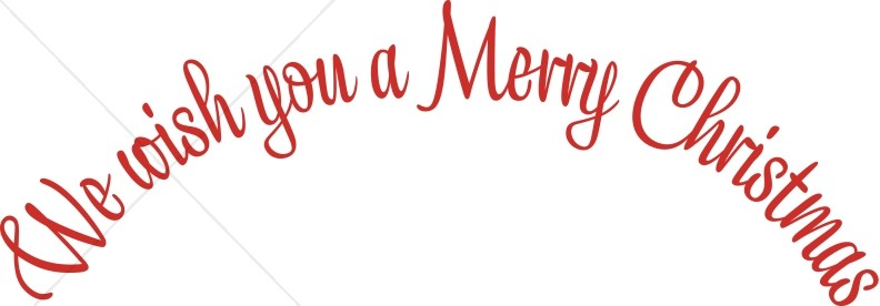 Merry christmas words merry christmas words clipart 7.