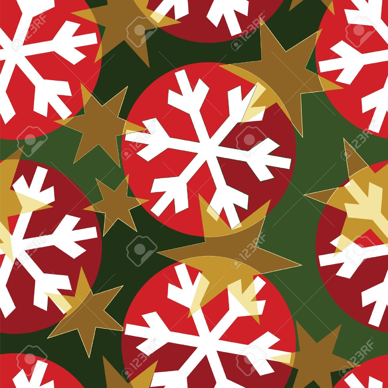 Design for Christmas wrapping paper.