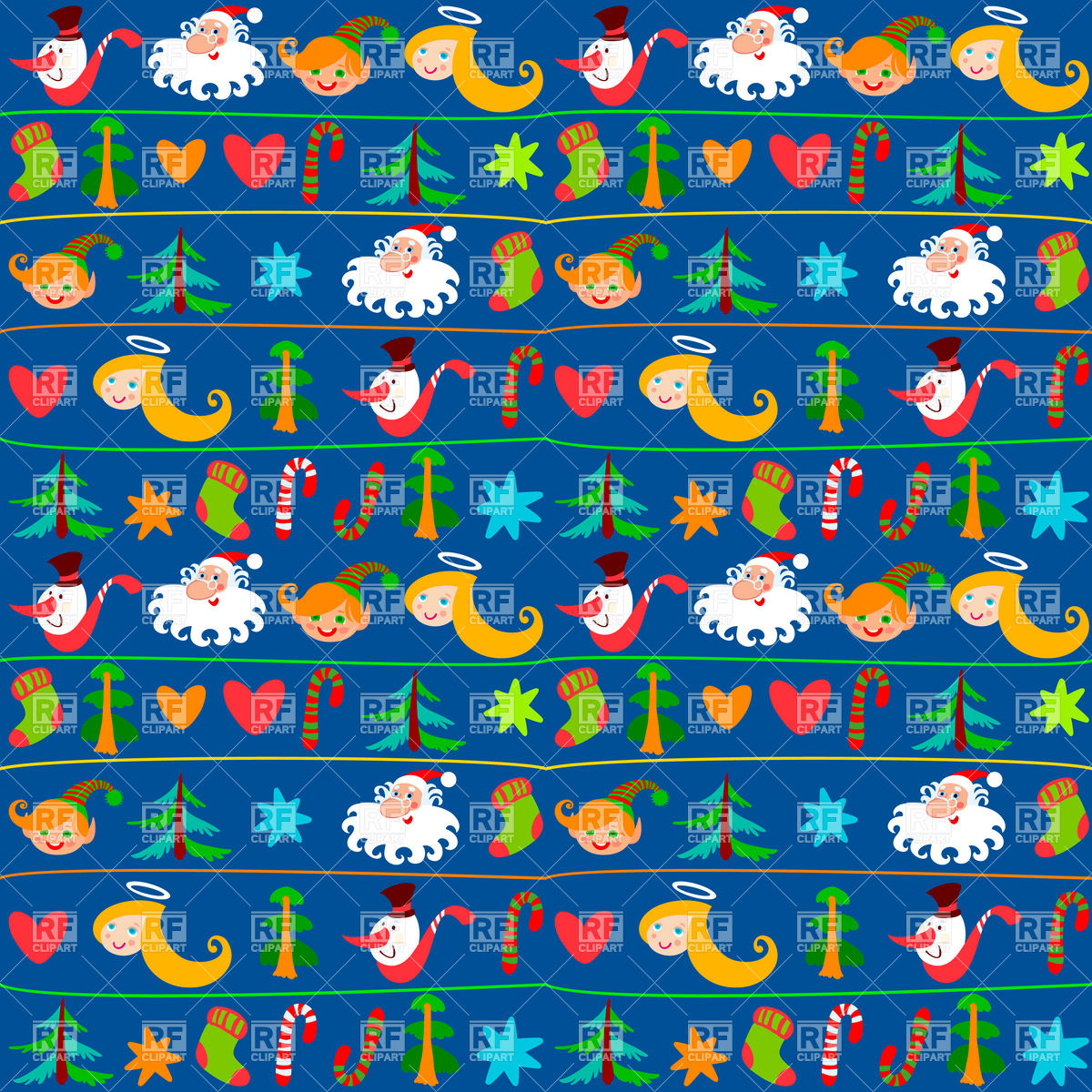 Festive Christmas background or wrapping paper Stock Vector Image.