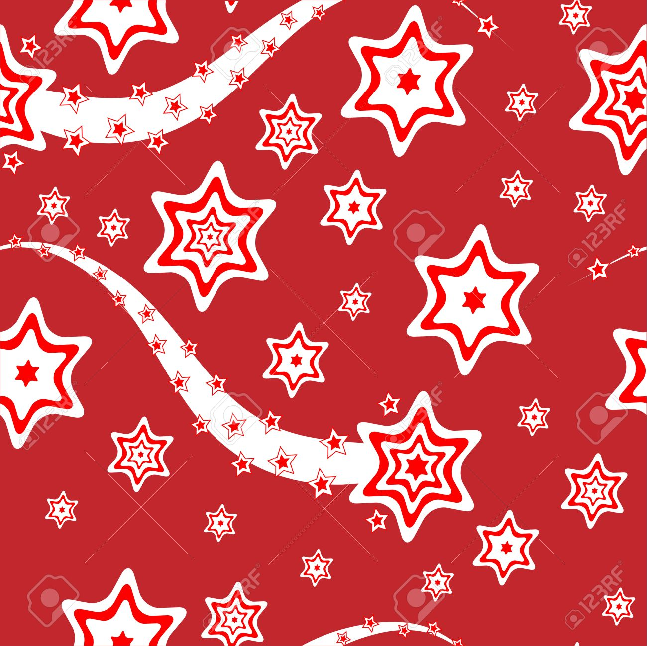 Christmas wrapping paper or background vector illustration.