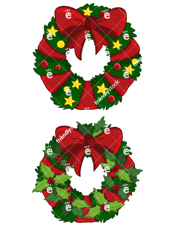 Christmas Wreath Collection #2.
