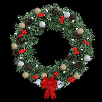 400+ Free Christmas Wreath & Christmas Images.