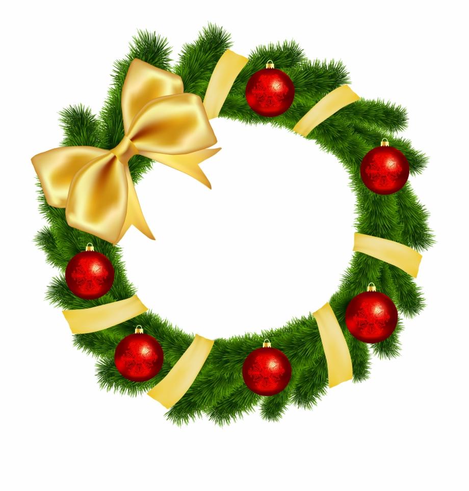 Christmas Tree Clipart Wreath.