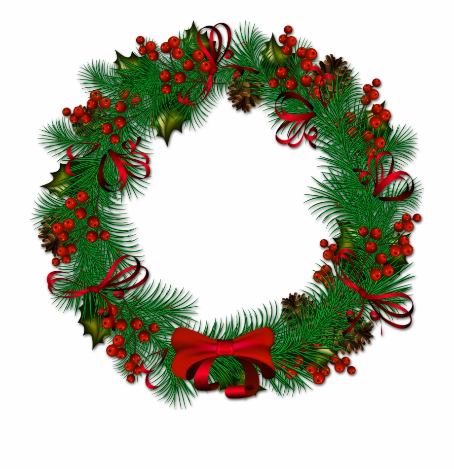 Fullsize Of Christmas Wreath Png Large Of Christmas.