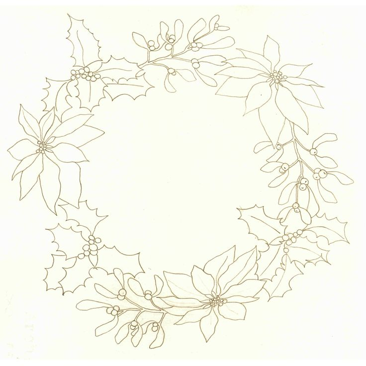 17 best images about watercolour wreaths on Pinterest.