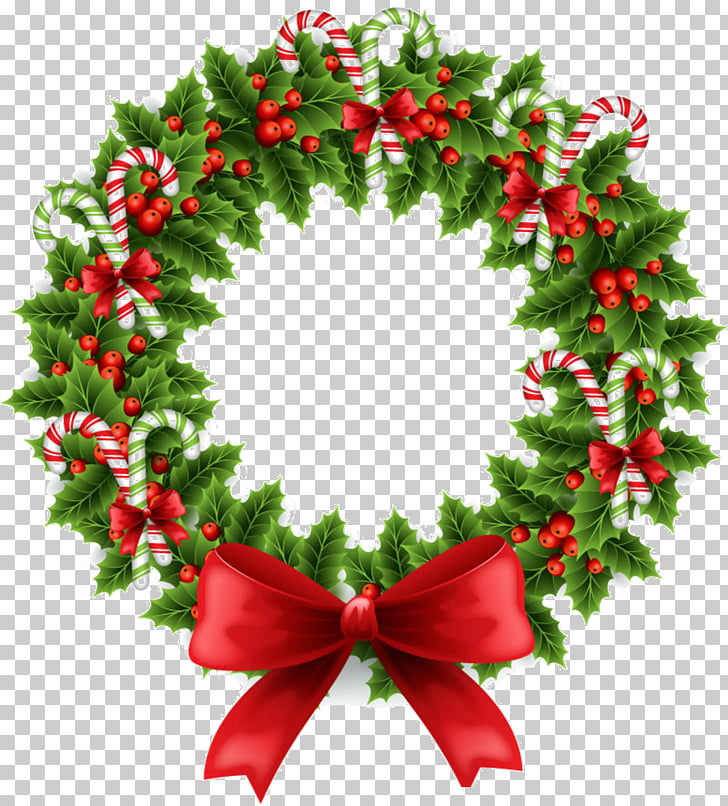 Wreath Christmas Garland , christmas PNG clipart.