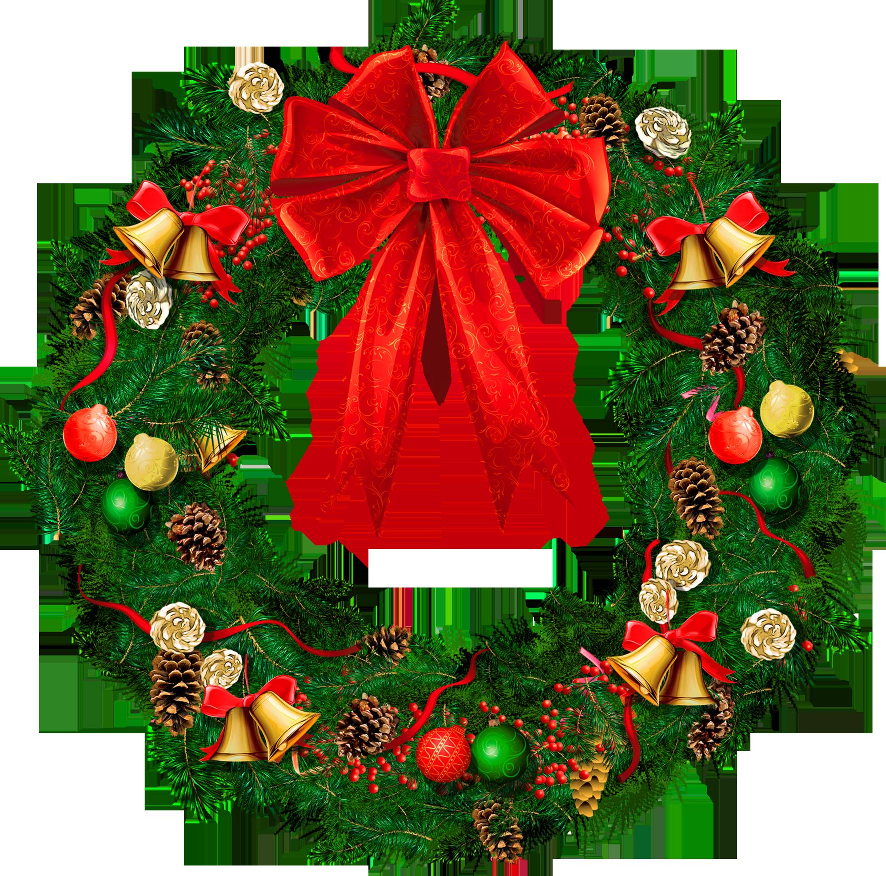 Christmas Wreath Png Image 2.