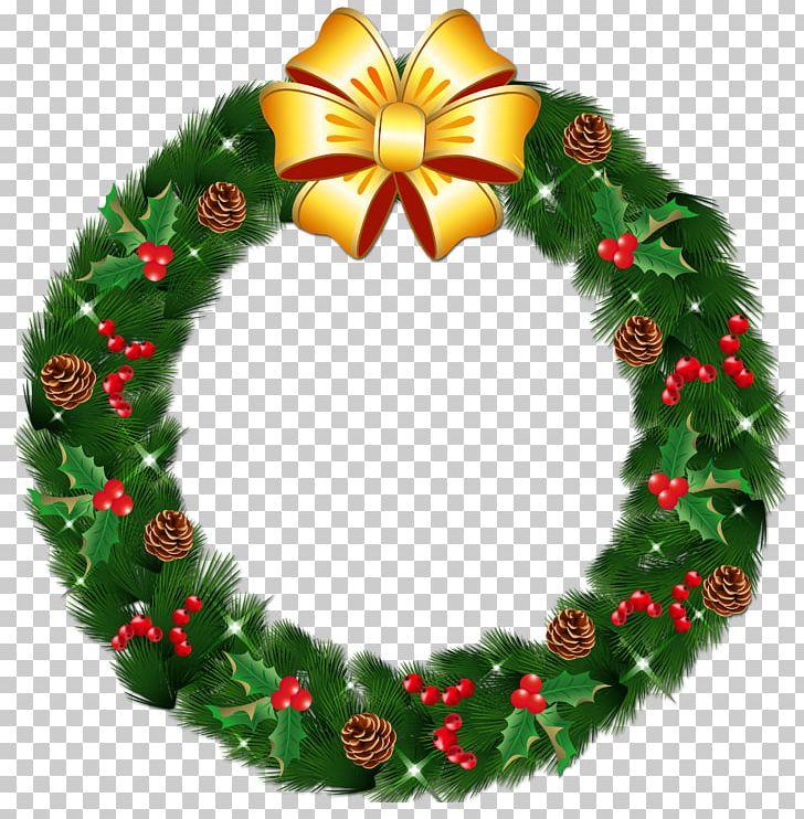 Wreath Christmas Garland PNG, Clipart, Bow, Christmas, Christmas.