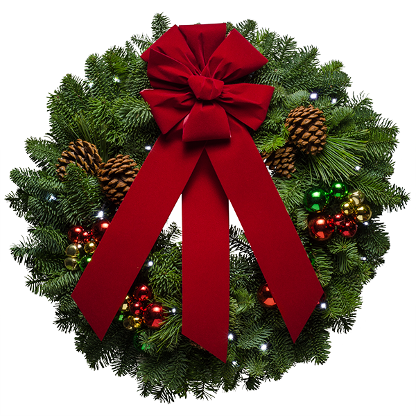 Download Free png Christmas Wreath PNG Free Dow.