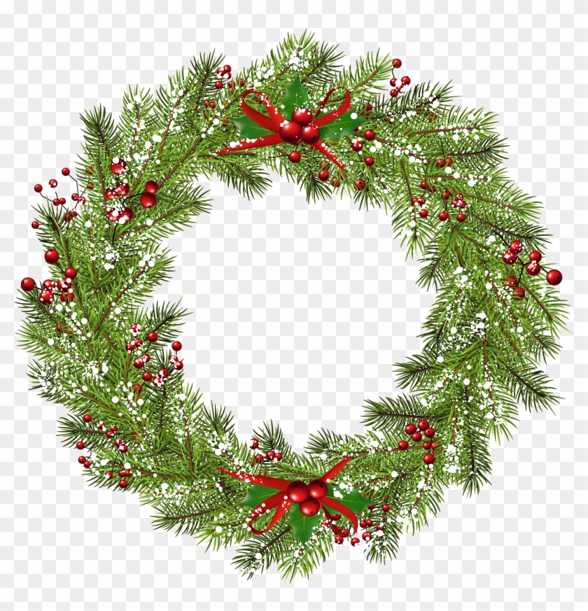 Free Png Christmas Wreath Png.