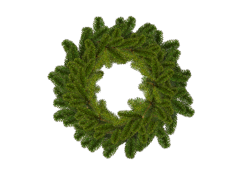 Christmas Wreath Png (Isolated.