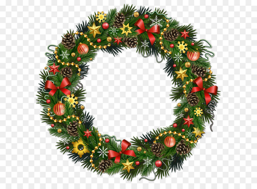 Christmas Wreath Free content Clip art.
