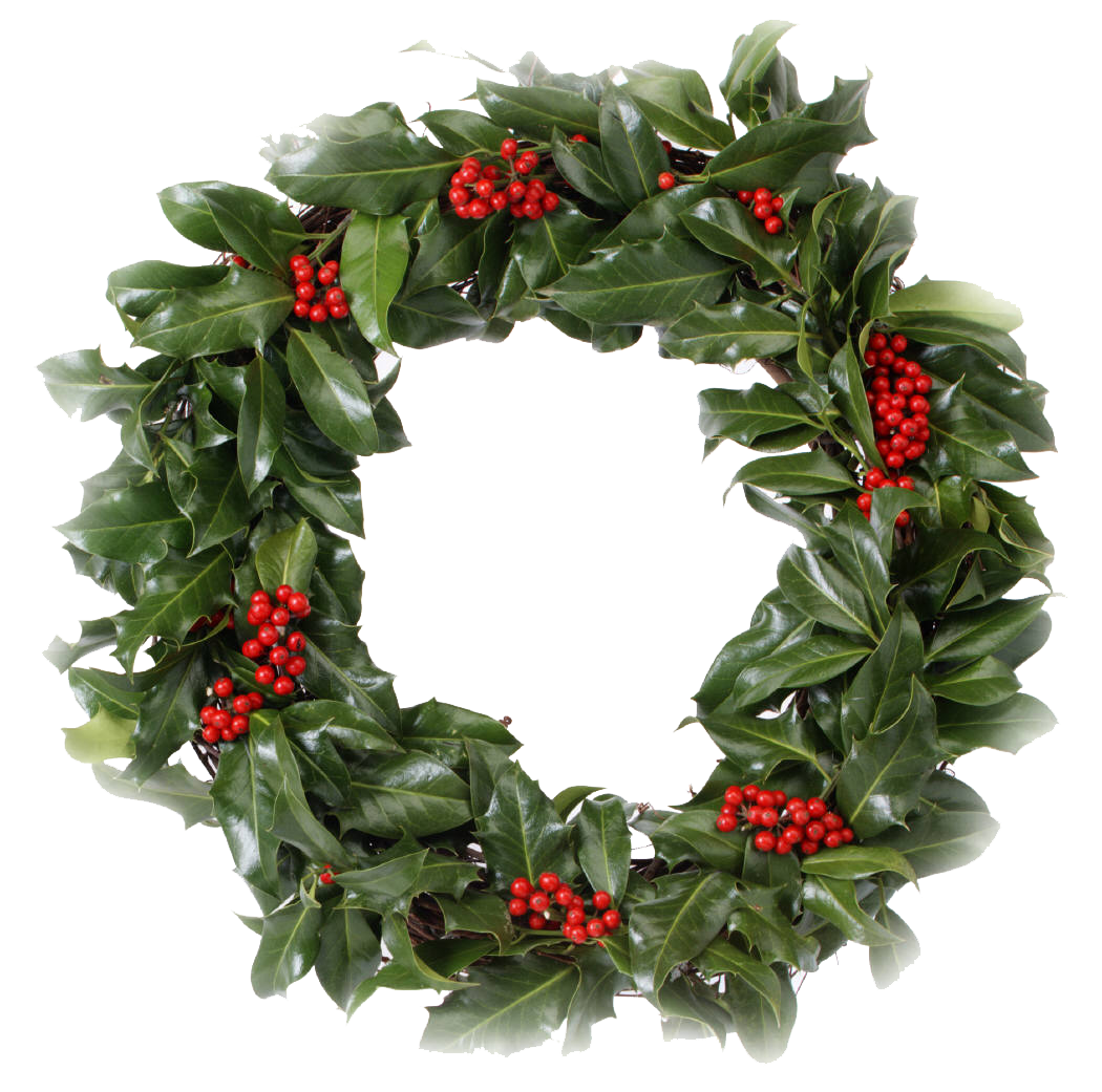 Download Christmas Wreath PNG Transparent Picture.