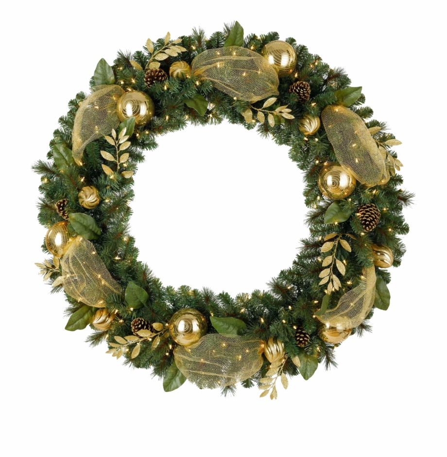 Christmas Wreath Png Hd.