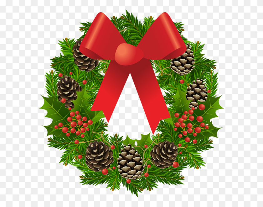 Christmas Wreaths Clipart.