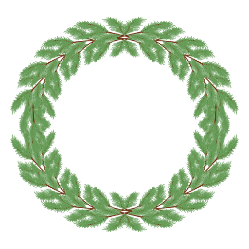 Christmas wreath icon 29.