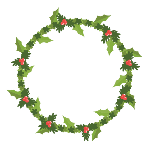 Christmas wreath icon 10.